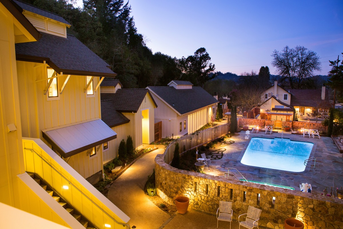 Sonoma County Hotel Voted Best in Northern California