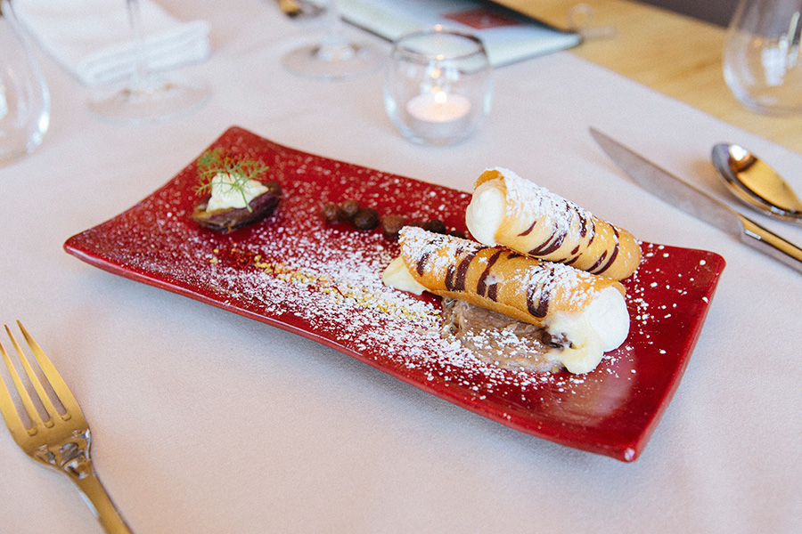 Cannoli at Canneti Roadhouse in