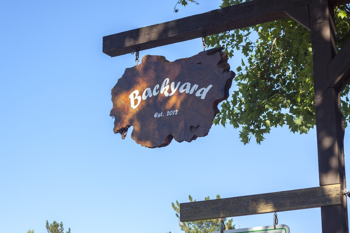 at backyard in forestville every fruit vegetable and animal is grown