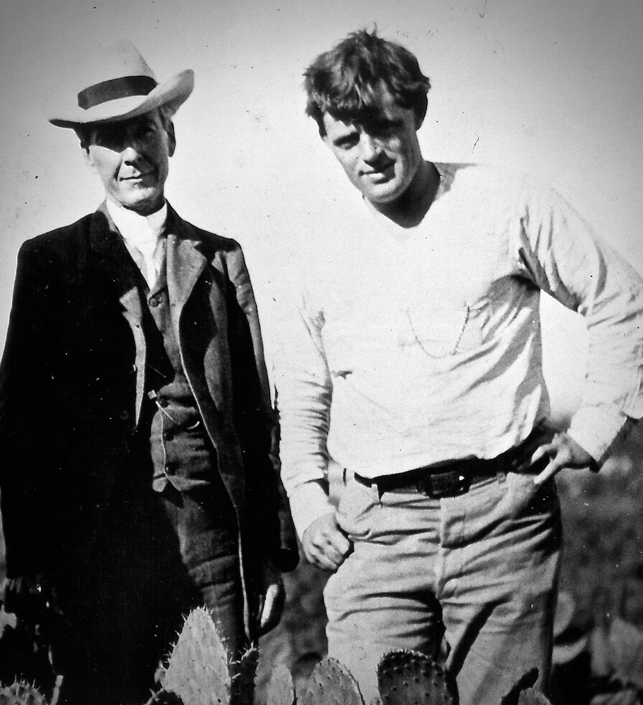 """On October 8, 1905, Luther Burbank received a letter from Jack London, whom Burbank later described as his """"almost neighbor"""", living just across the hills. """"Now, what I want to know,"""" wrote Mr. London, """"is could you give me a tip to any kinds of exceptionally good fruits and grapes for me to plant?"""" Burbank replied quickly with a detailed and modest note. He cited several fine varieties of grapes and fruits but listed only two of his own, the Climax and Wickson plums. Both Jack and his wife Charmian visited Burbank on at least two occasions. The first was in 1896 or 1897. The guest book records another visit by them in the summer of 1910. London remarked in the comments section, """"I'd rather be doing what you are doing than be Roosevelt, Rockefeller, King Edward and the Kaiser rolled into one."""""""