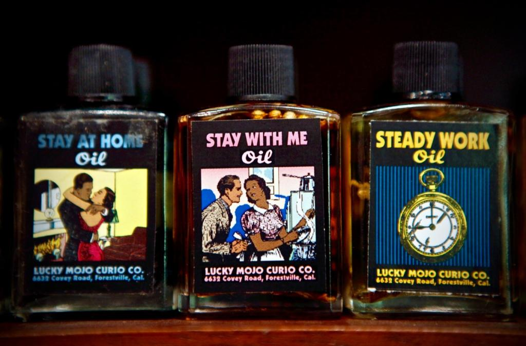 Shop for magic potions at Lucky Mojo Curio Co. in Forestville ( Beth Schlanker)