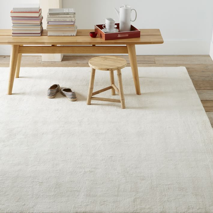 Hand Loomed Shine Rug Gray: Transform Any Room In Your House With An Area Rug