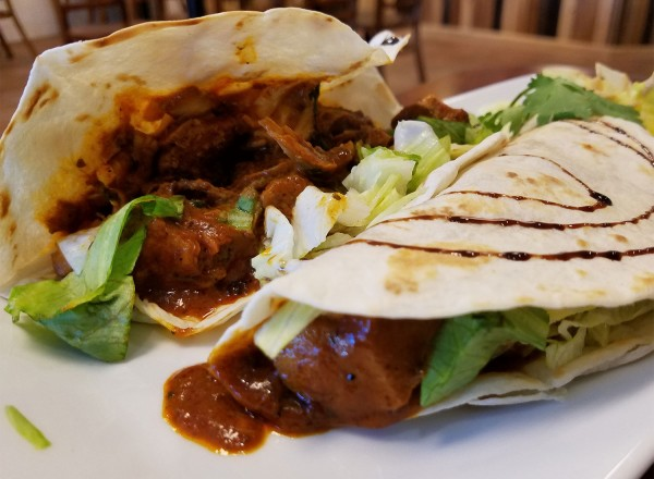 Tikka tacos at Momo Grill in Santa Rosa. Heather Irwin?PD