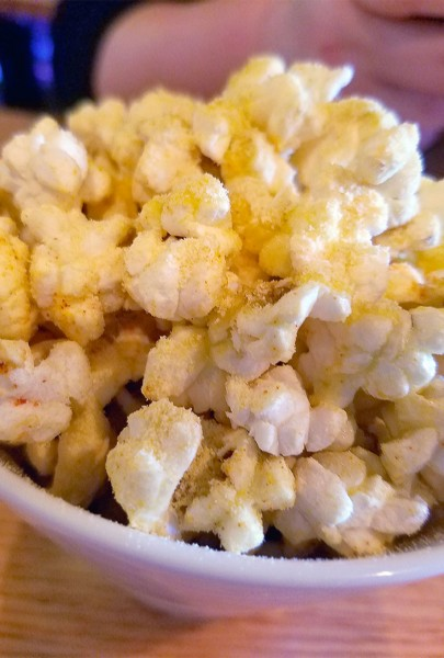 Popcorn + corn at The County Bench in Santa Rosa. Heather Irwin/PD