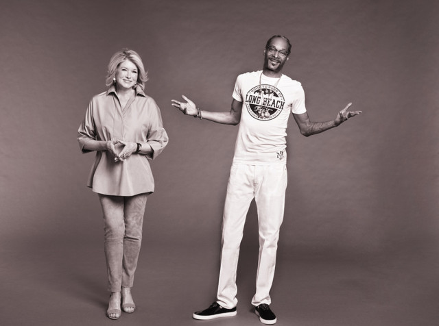 Snoop and Martha Are Smoking in the Kitchen