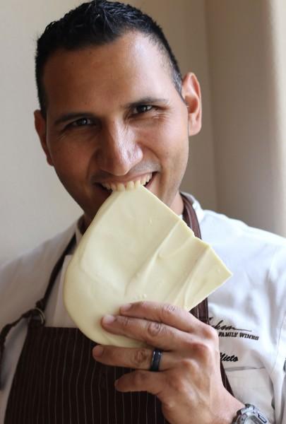 Robert Nieto of Jackson Family Wines. Nieto has been named one of America's top ten bakers. Heather Irwin/PD
