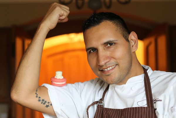 Robert Nieto, Pastry Chef of Jackson Family Wines. Photo: Heather Irwin
