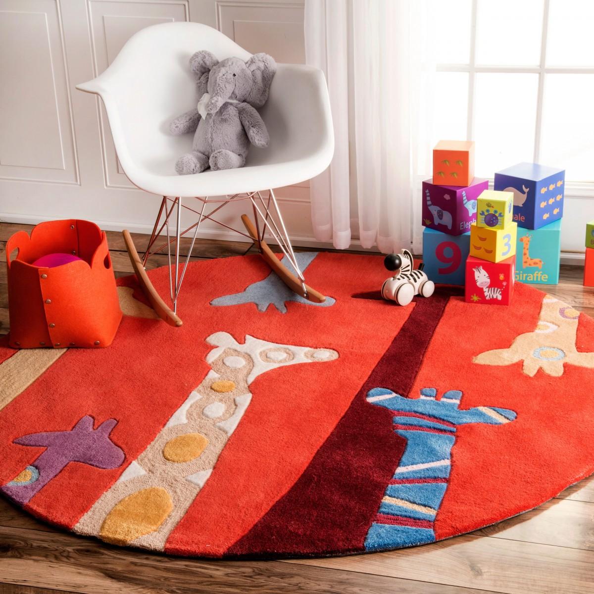 nuLOOM-Handmade-Bright-Giraffes-Kids-Nursery-Red-Rug-5-Round-f804dca5-24a8-4420-a10a-32bd6ec81733