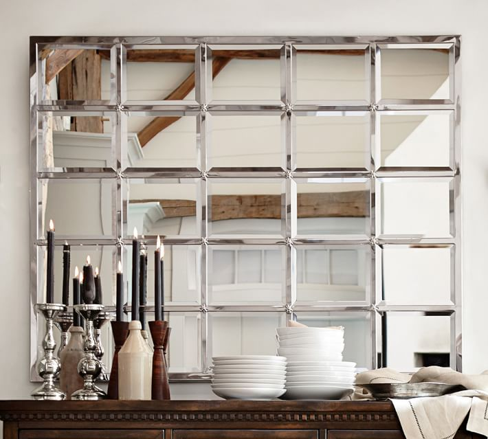 Make A Small Kitchen Look Bigger: 7 Ways Mirrors Can Make Any Room Look Bigger