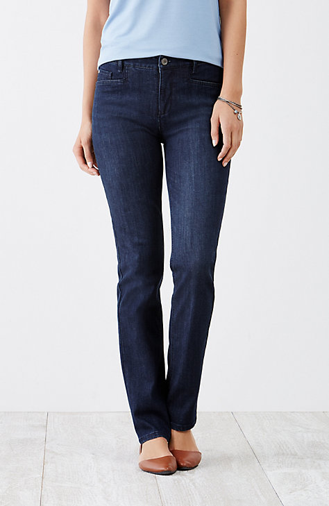 Smooth fit Straight Jeans from J. Jill