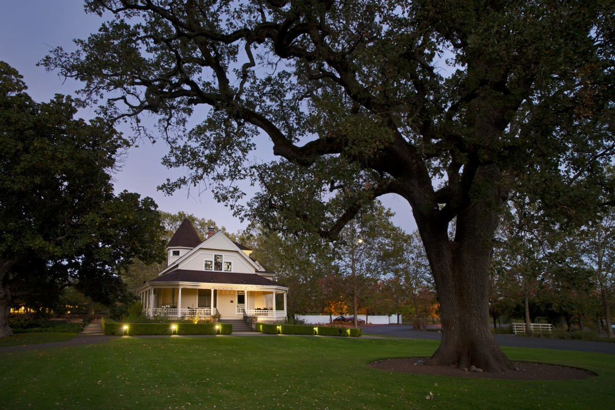 The grounds at St Supéry in Rutherford. (Photo Courtesy St. Supéry Estate Vineyards & Winery)