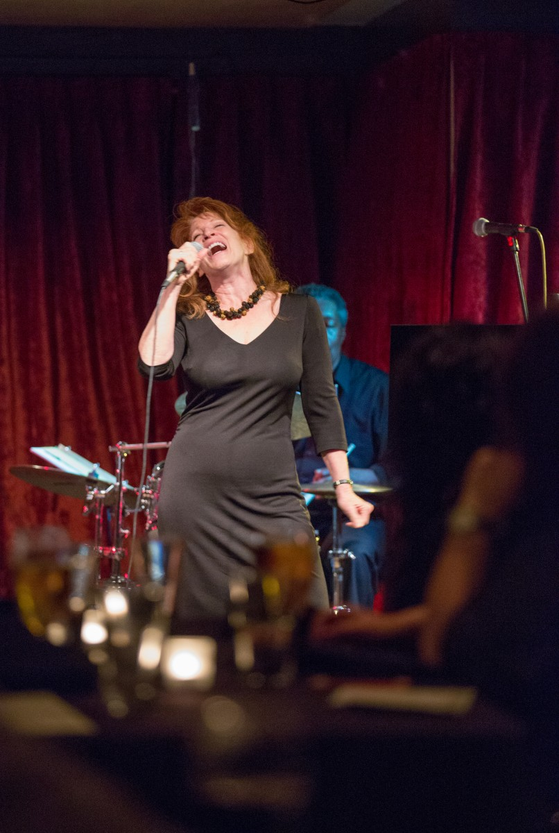 Pamela Rose preforms with Wayne De La Cruz at The Big Easy bar and night club in Petaluma, Calif. Friday, March 20. The Big Easy bills itself as an underground restaurant & jazz club located in a Historic Downtown Petaluma in American Alley. Jeremy Portje