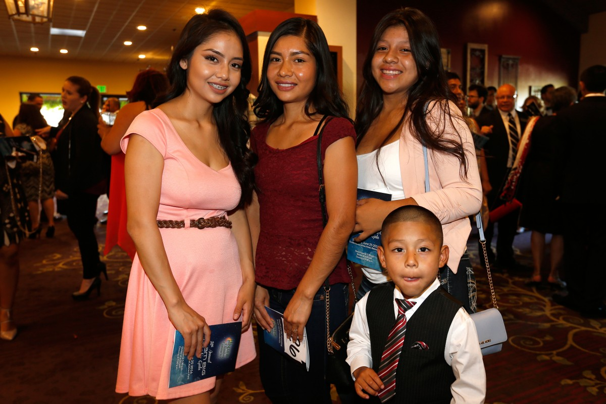 during the Hispanic Chamber of Commerce Sonoma County's Dream Big scholarship gala in Rohnert Park.