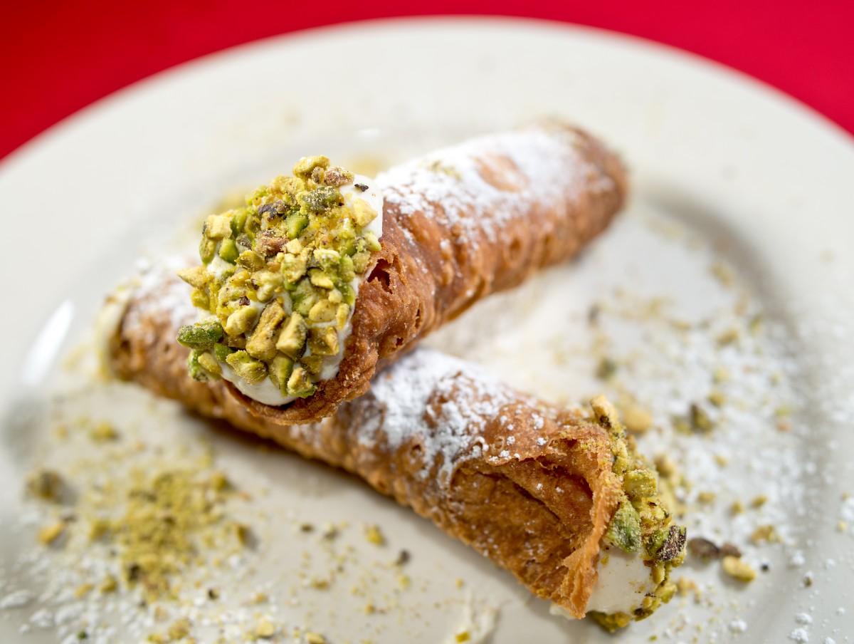 Cannoli at LoCoco's Cucina Rustica, in Santa Rosa, Calif., on September 24, 2013. (Alvin Jornada / The Press Democrat)