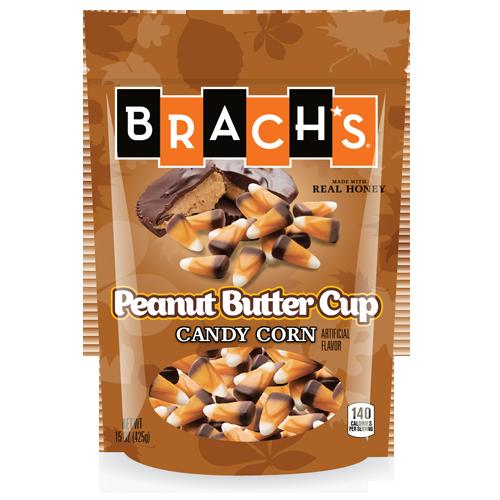 Brach's Peanut Butter Cup Flavor candy corn for Halloween 2016