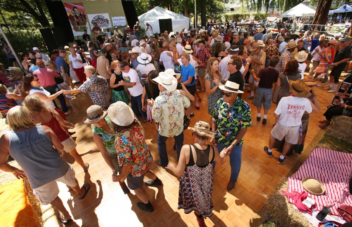 Cajun Zydeco Music Festival in Sebastopol