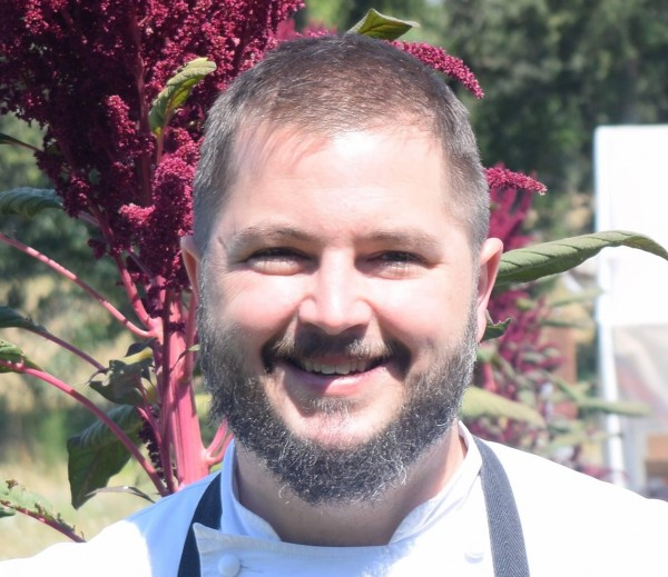 Chef Chris Biard is the new executive chef at The Restaurant at Russian River Vineyards