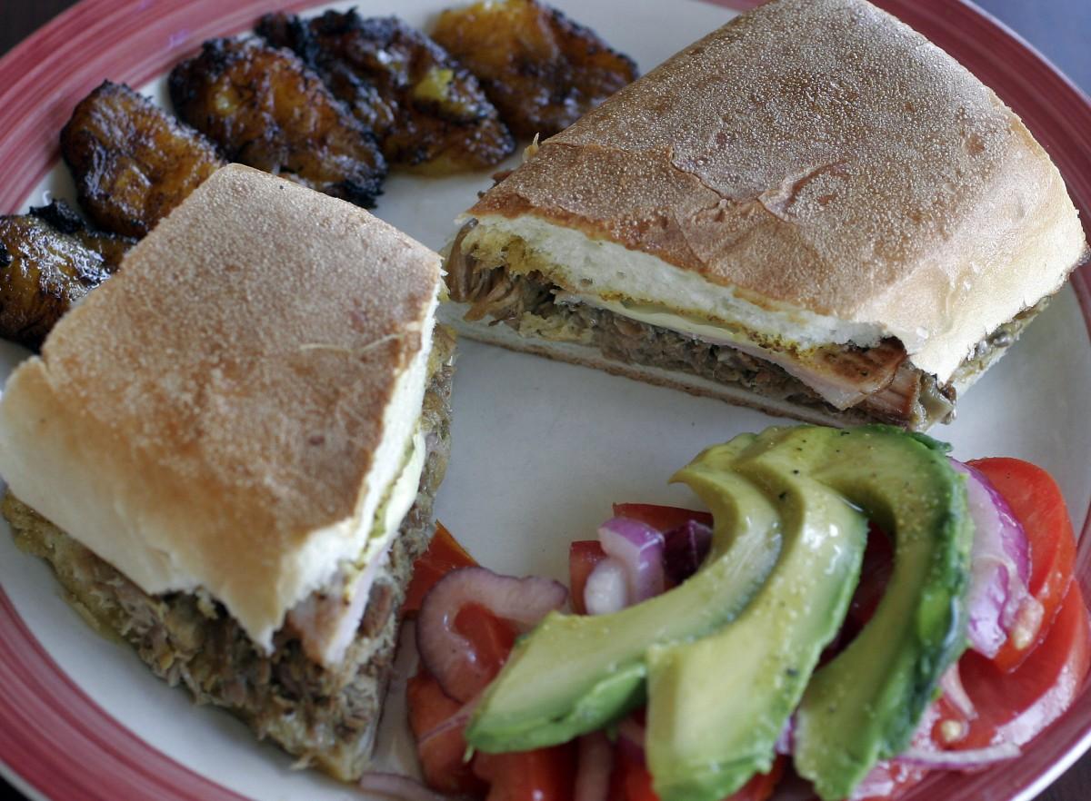 Cubano sandwich at El Coqui in Santa Rosa. (Photo by Jeff Kan Lee)