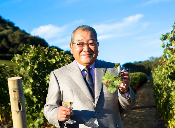 Kenzo Tsujimoto of Kenzo Winery in Napa will be opening a new Japanese restaurant.