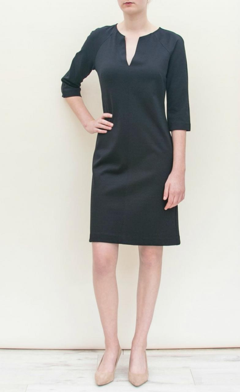 Little Black Dress for fall by Lesley Evers
