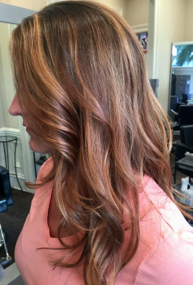 Ronze hair color