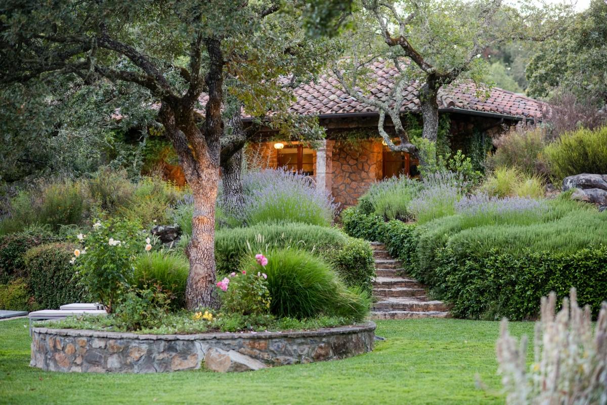 Guest cottage.