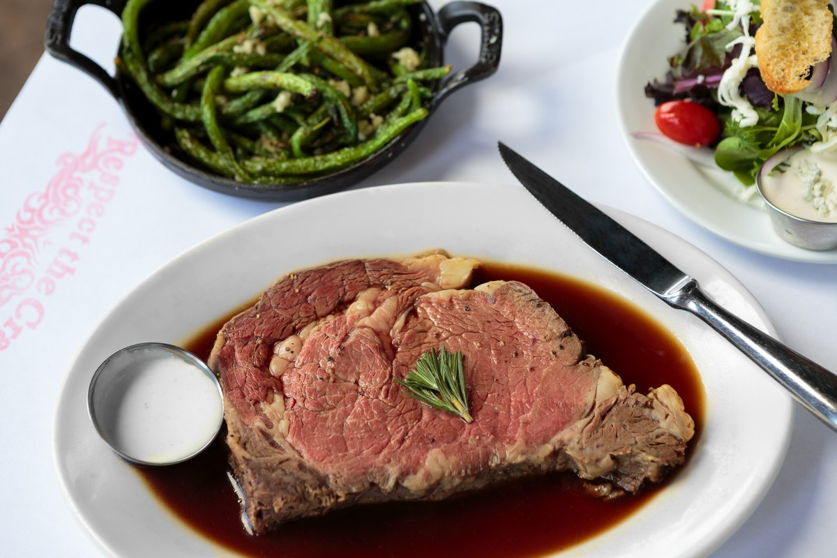 Prime rib from Tony's in Rohnert Park Food shots for Cheap Eats section Chris Hardy