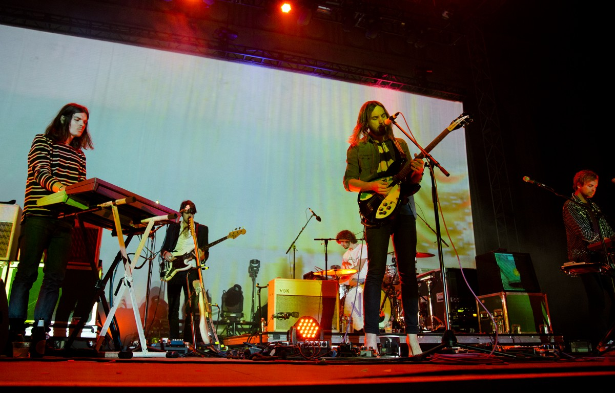 Tame Impala at Hearst Greek Theatre 08