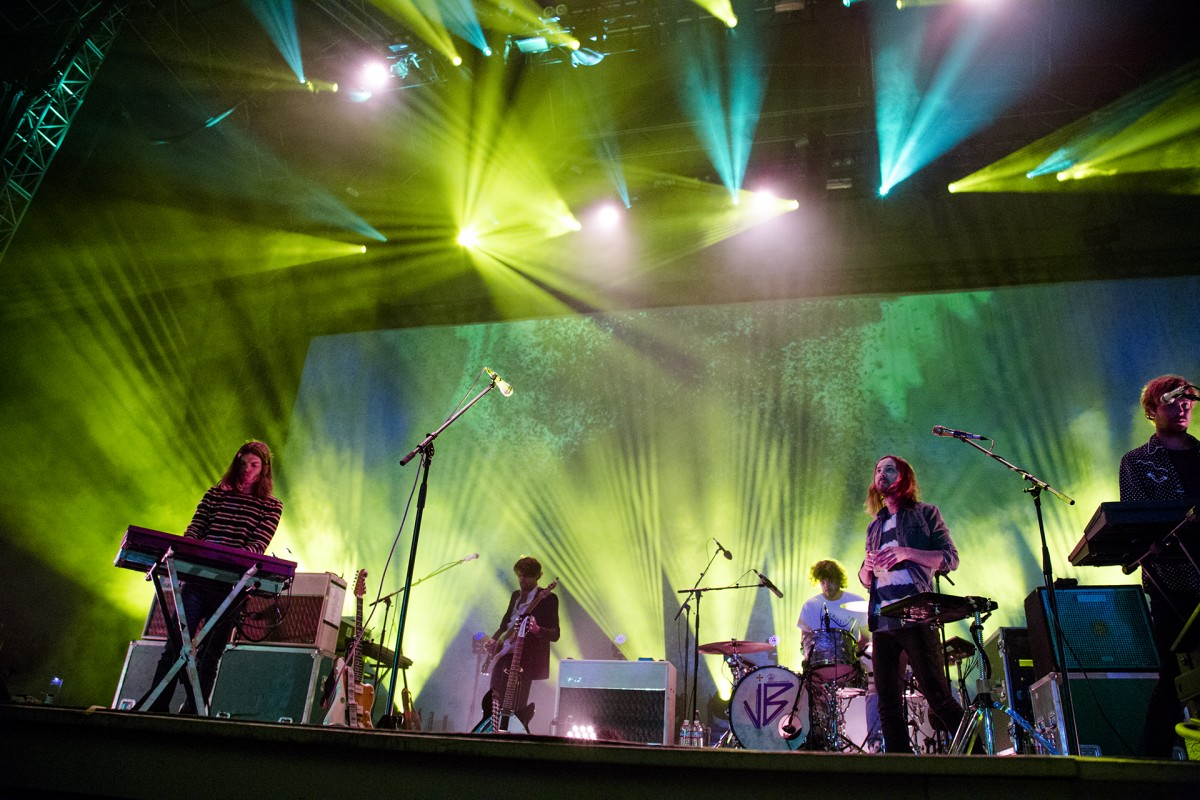 Tame Impala at Hearst Greek Theatre 15