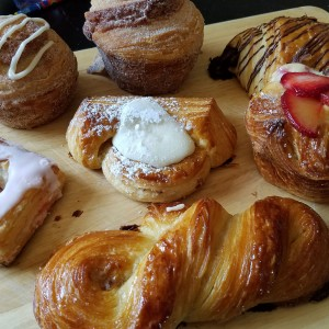 Bright Bear Bakery in Petaluma features luxe pastries, cronuts, croissants and morning buns in Petaluma. Photo: Heather Irwin/PD