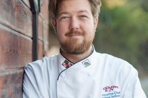 Chef Joshua Seibert of Nick's Cove