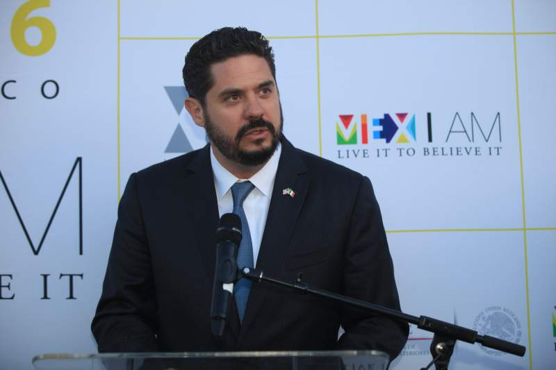 Gemi José González López, Mexico's consul general in San Francisco (Mexico Consulate General San Francisco, July 18, 2016)