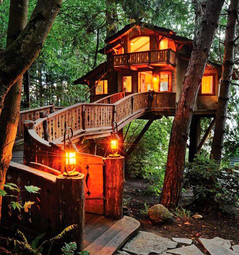 Having a treehouse professionally built can be expensive, but the payoff of  having it designed and installed by the pros may be worth it if you decide  to ...