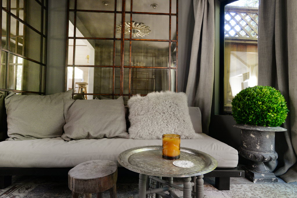 The Opium Den at the Healdsburg home of interior designer Benjamin Dhong.