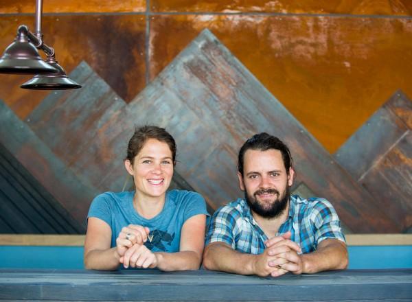 Natlie Goble and Lowell Sheldon will open Handline Restaurant in Sebatopol in late September. Courtesy photo