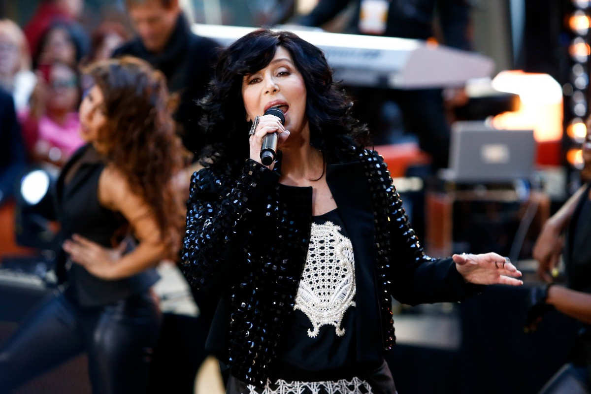 Singer Cher performs on NBC's Today Show at Rockefeller Plaza on September 23, 2013 in New York City. Image ID:155650088 Copyright: Debby Wong Editorial Credit: Debby Wong / Shutterstock.com