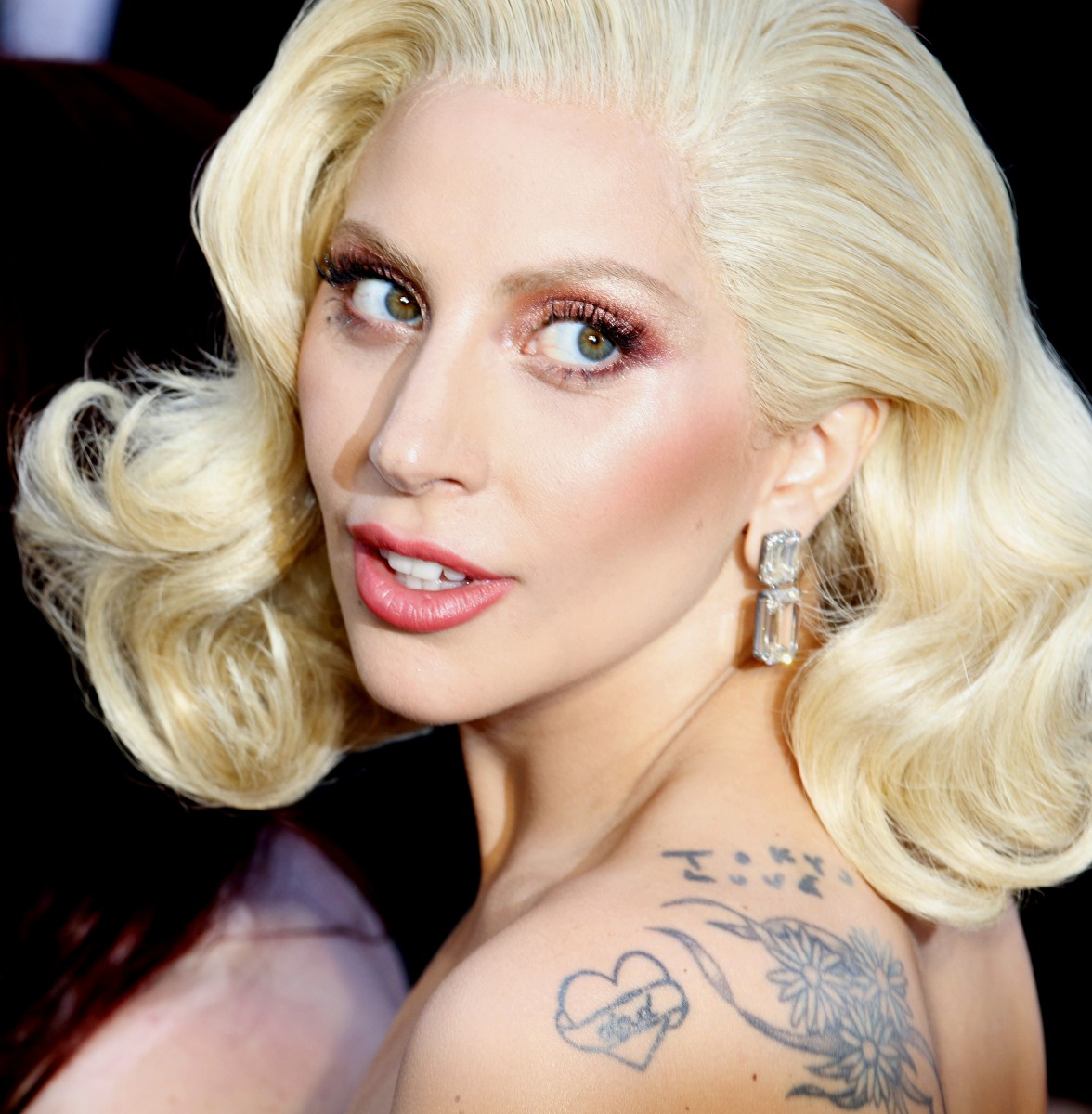 Lady Gaga at the 88th Annual Academy Awards held at the Hollywood & Highland Center in Hollywood, USA on February 28, 2016. (Photo by Tinseltown Editorial Credit: Tinseltown / Shutterstock.com