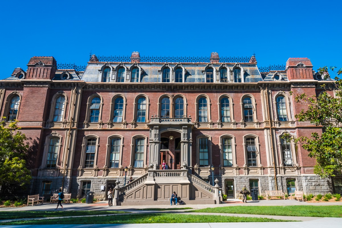 : South Hall is the only building remaining from the original campus of the University of California, Berkeley. It was built in 1873.