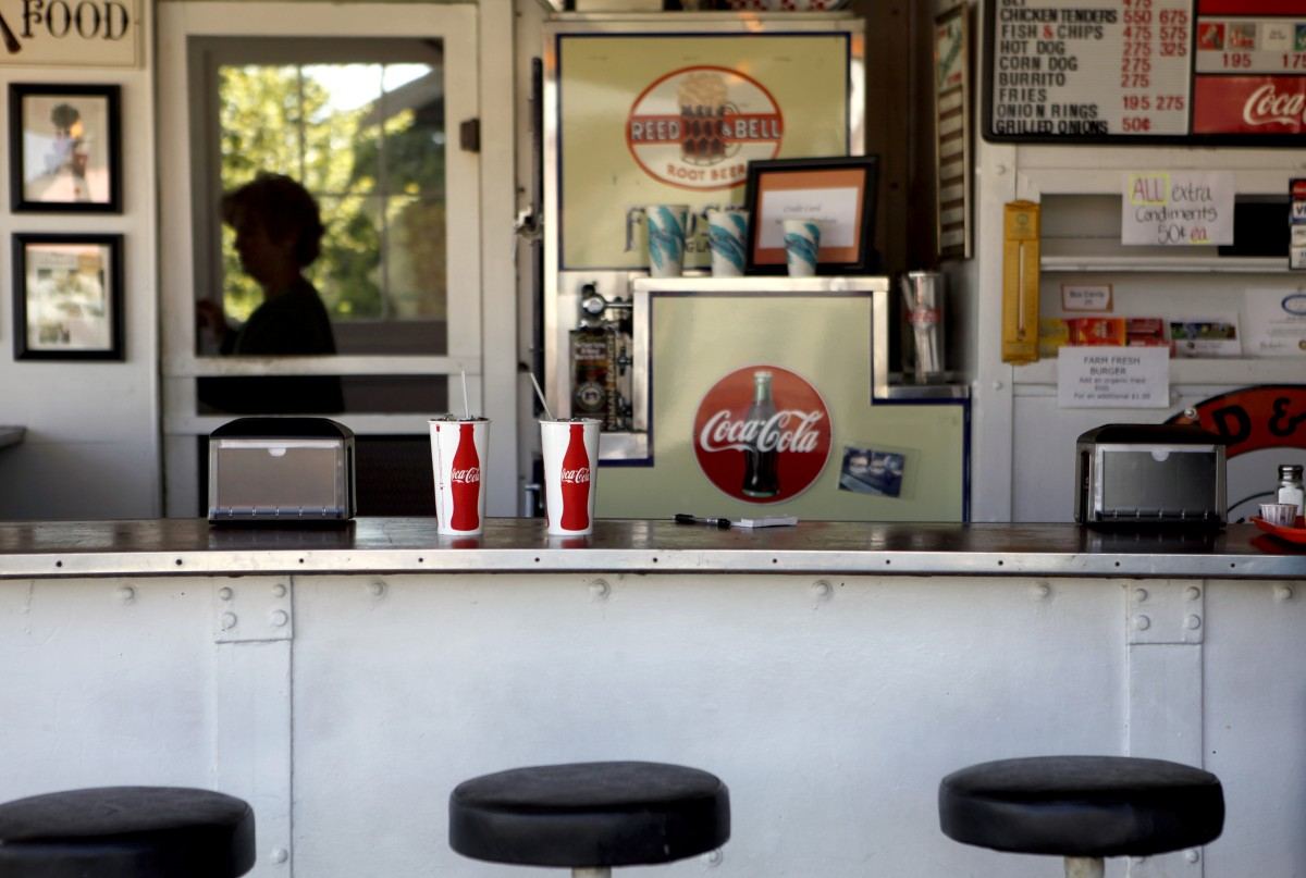 Pick's Drive-In in Cloverdale, California on Monday, March 28, 2011. (BETH SCHLANKER/ The Press Democrat)