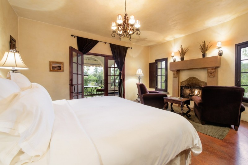 Room at the Kenwood Inn and Spa. (Photo courtesy of Kenwood Inn and Spa)
