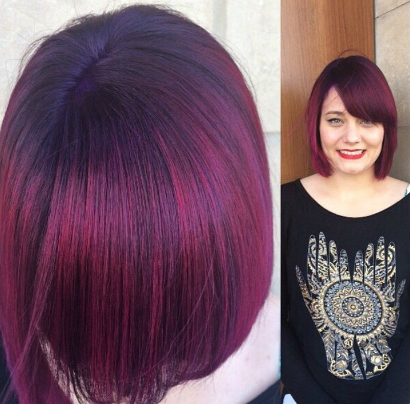 Color melt hair color