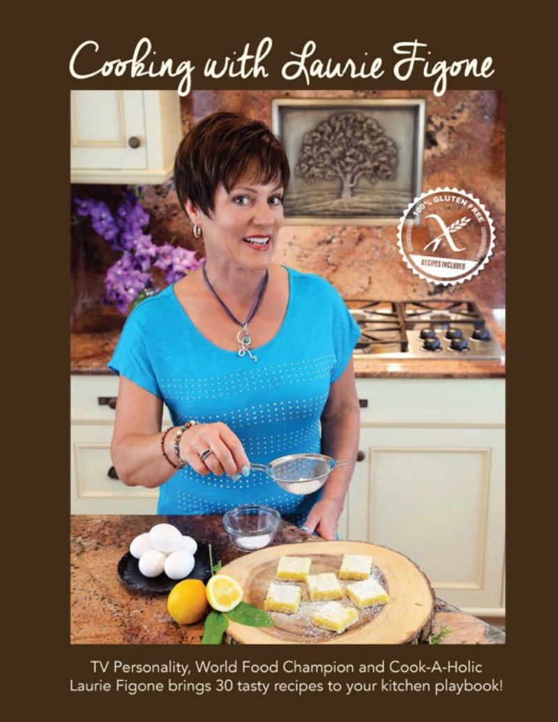 Cooking with Laurie - FRONT