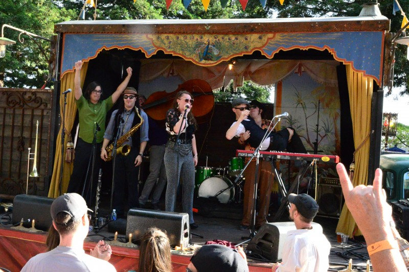 The Dixie Giants at Sonoma County's Funkendank Oktoberfest. (Photo by Tim Vallery)