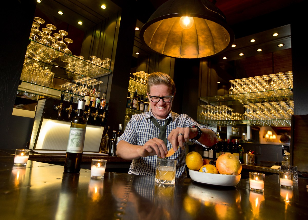 Famed Guerneville restaurateur Crista Luedtke led the redesign of the new Revival at the Applewood Inn, including a vermouth bar with a twist. (Photo by John Burgess)
