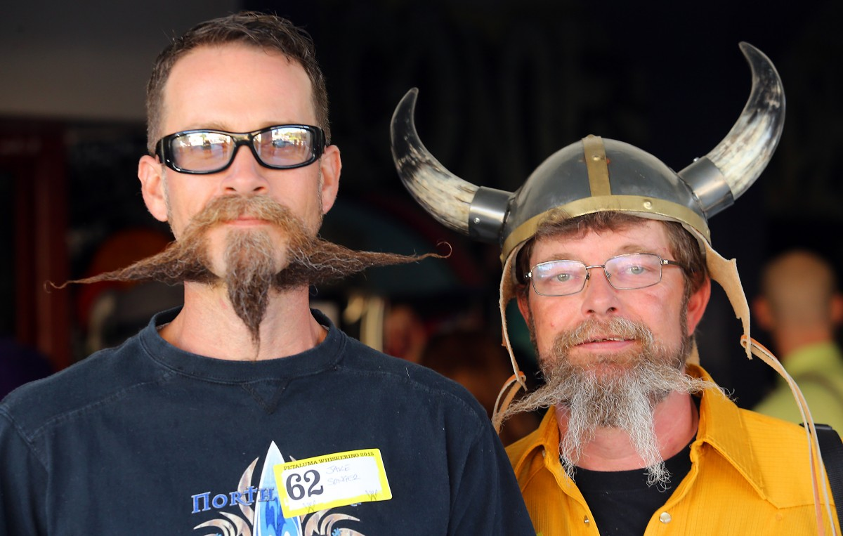 Whiskers and vikings coming up this weekend! (Photo by John Burgess)