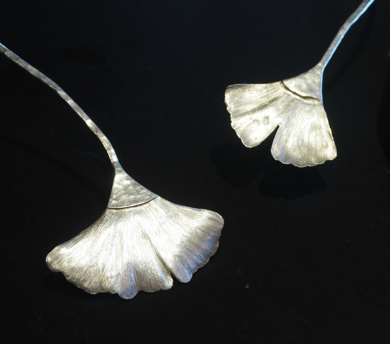 Michelle Hoting Gingko Neckpiece