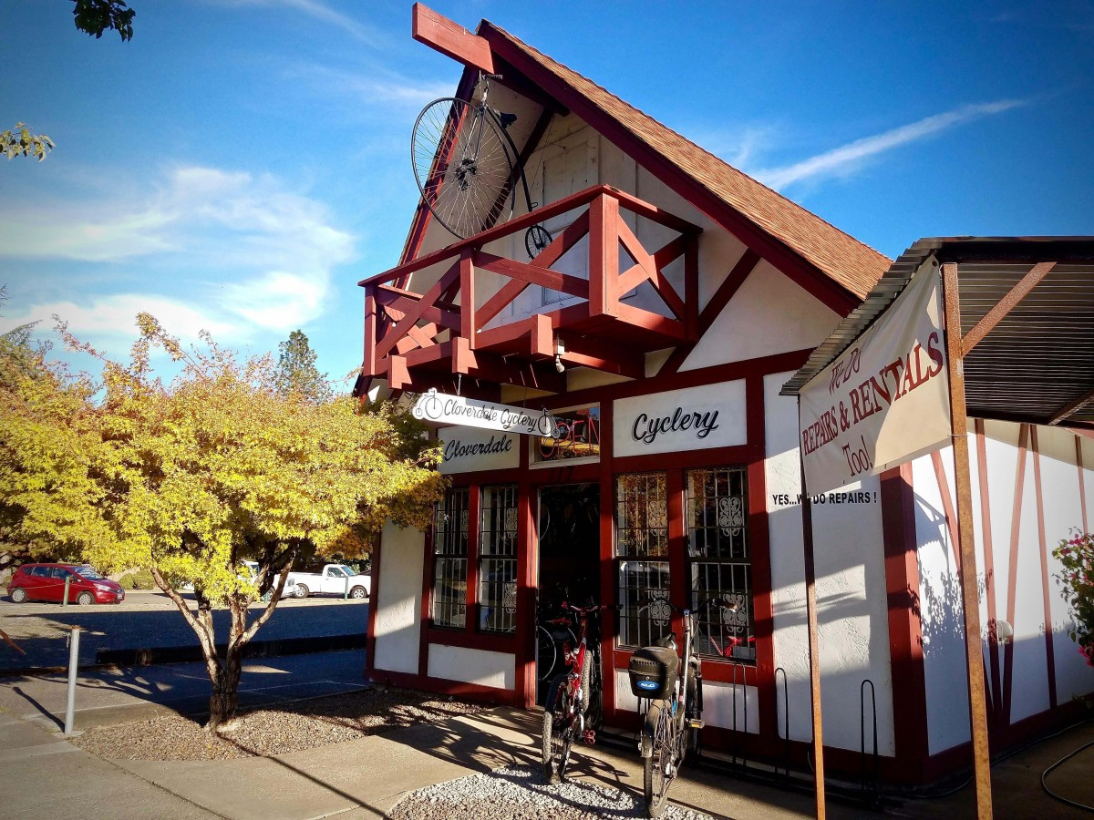 Cloverdale Cyclery. (Photo by Chelsea Kurnick)