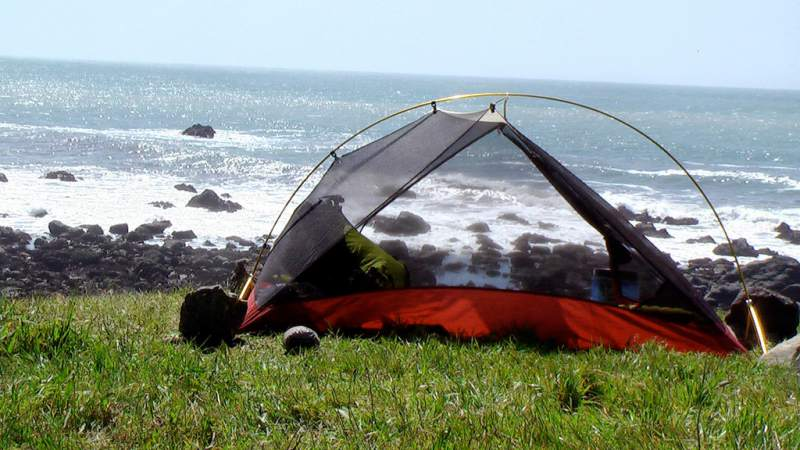 Lost coast camping. (Rick McCharles/Flickr)