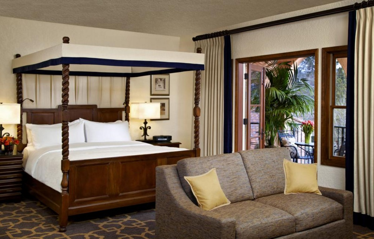 Room in the Fairmont.