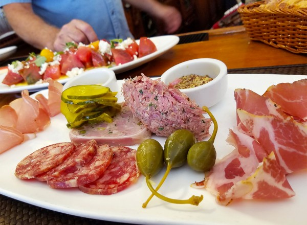 Charcuterie Plate at the Girl and the Fig. Heather Irwin/PD